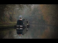 Second Place - 'Misty Day on the Canal' by Georgina Foxwell